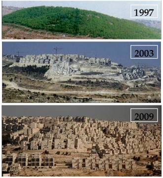 Israeli Settlement Growth West Bank