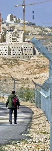 Settlements overshadowing Bethlehem
