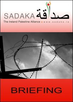 Sadaka Publications - 50 years of Israeli occupation: The roadblock to peace (Click now to download Briefing)
