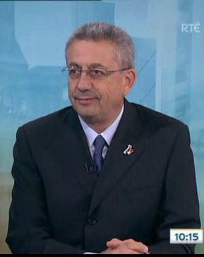 Mustafa Barghouthi interview on RTE 'Morning Edition'